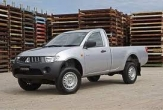 TRITON 2wd and 4wd STYLESIDE UTE (vehicle with rear bumper step fitted)