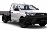 HILUX 2wd Lo-Rider TRAYBACK (vehicle without rear bumper step)