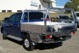 HILUX 4wd TRAYBACK (vehicle with rear bumper step fitted)
